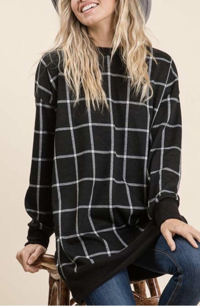 The Window Pane Tunic