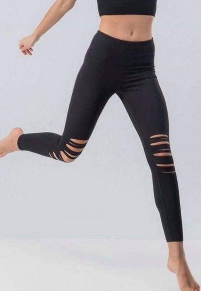 The Distressed Legging