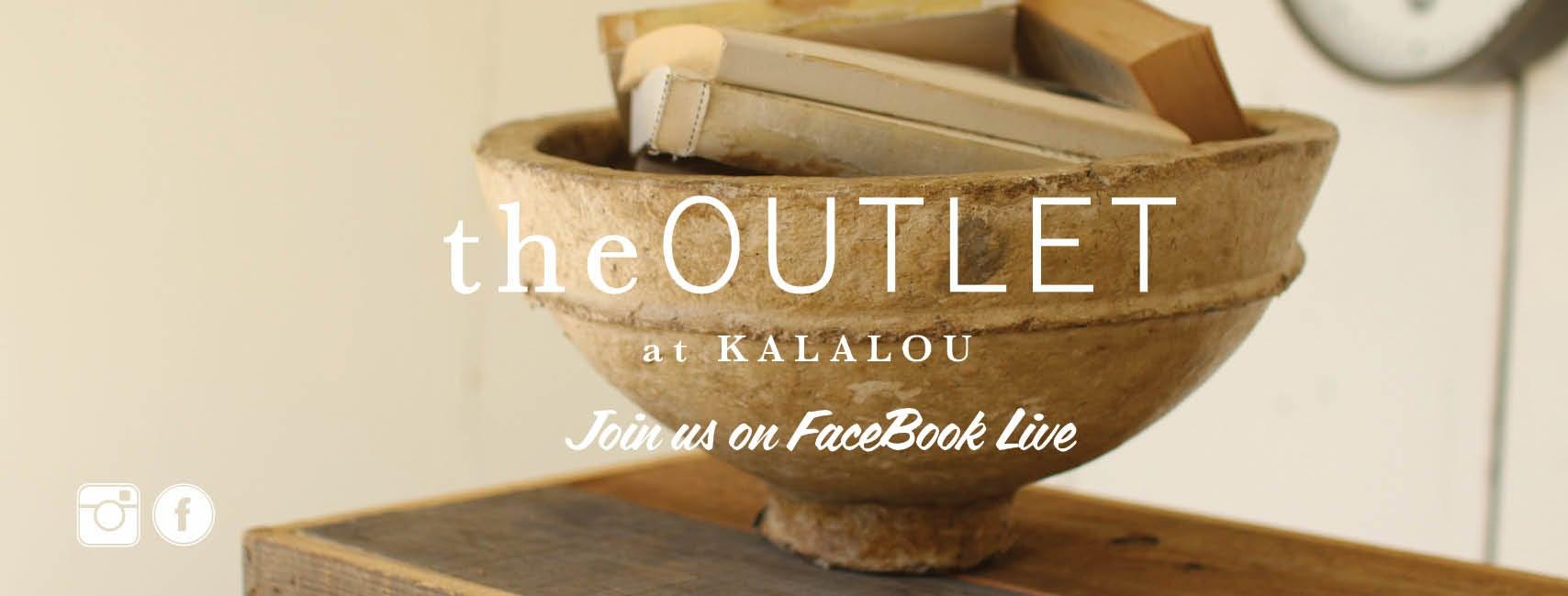 theOUTLET Facebook live
