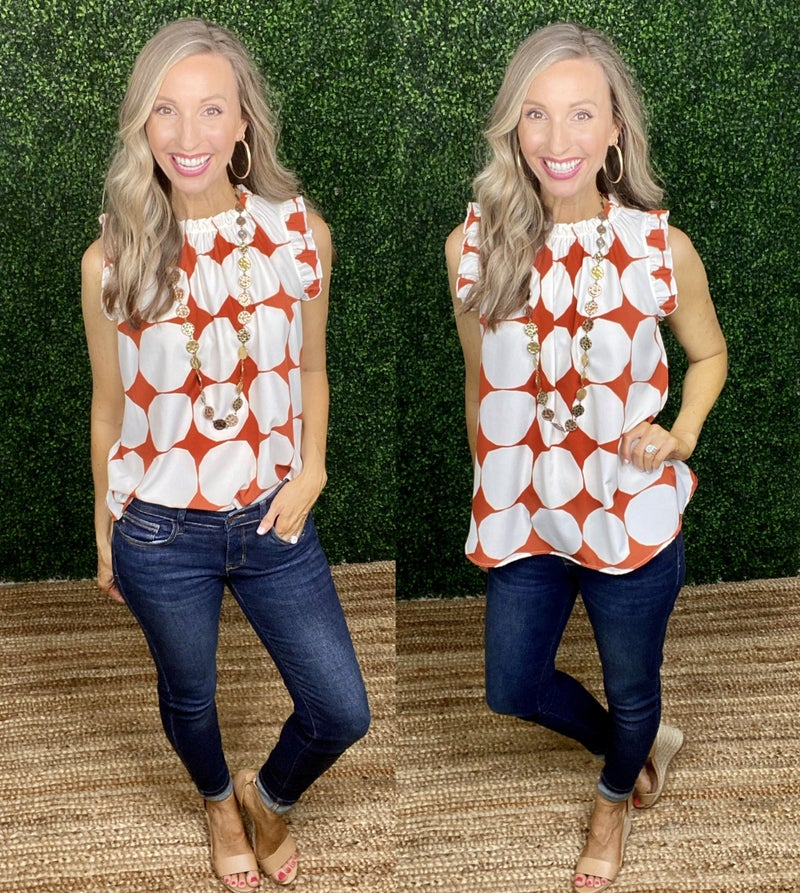 Bold & Beautiful Top: NEW COLOR!!