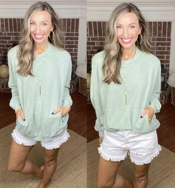 Ashton Pocket Sweatshirt