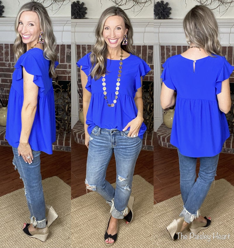 Solid Favorite Top - NEW COLOR!