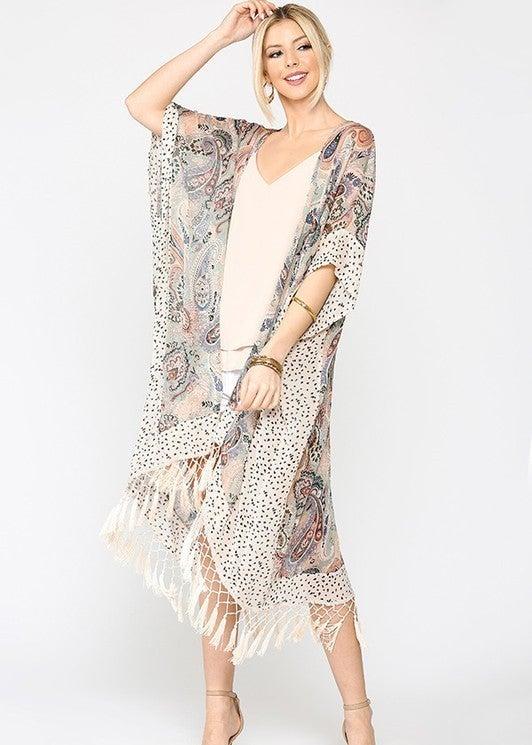 Good Times & Shorelines Kimono