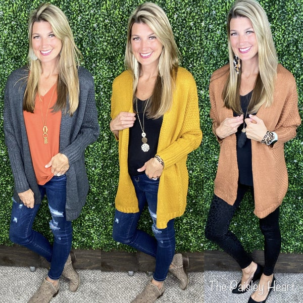 All About That Fall Cardigan