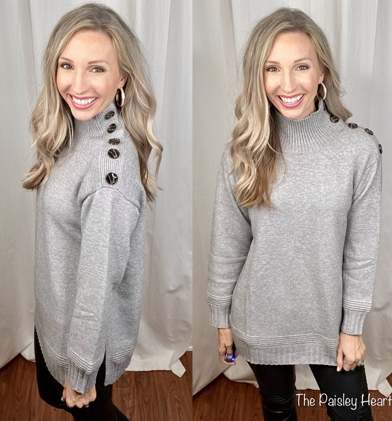 Cozier Side Lightweight Knit Sweater