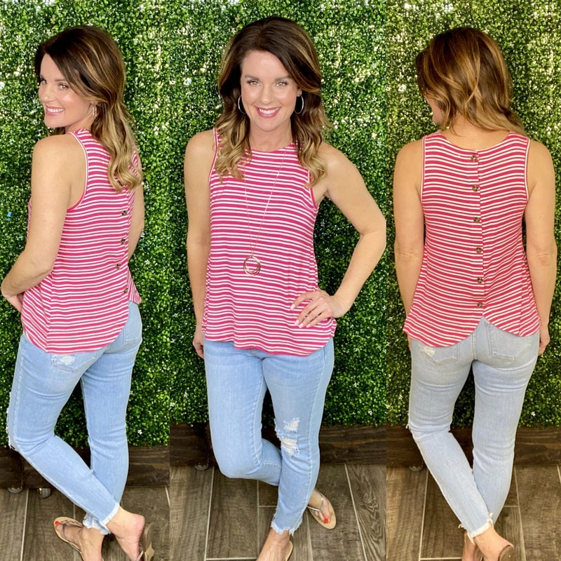 Ember Striped Top
