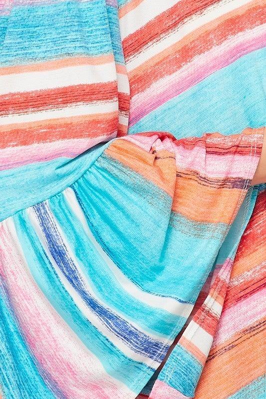 Seaside Stripes Kimono