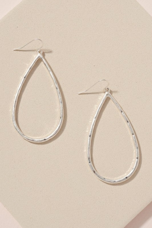 Designer Inspired Tear Drop Earrings