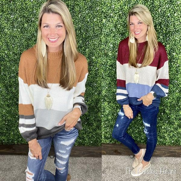 Kennedy Colorblock sweater