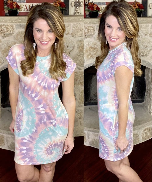 Serene Dreams Tie Dye Dress