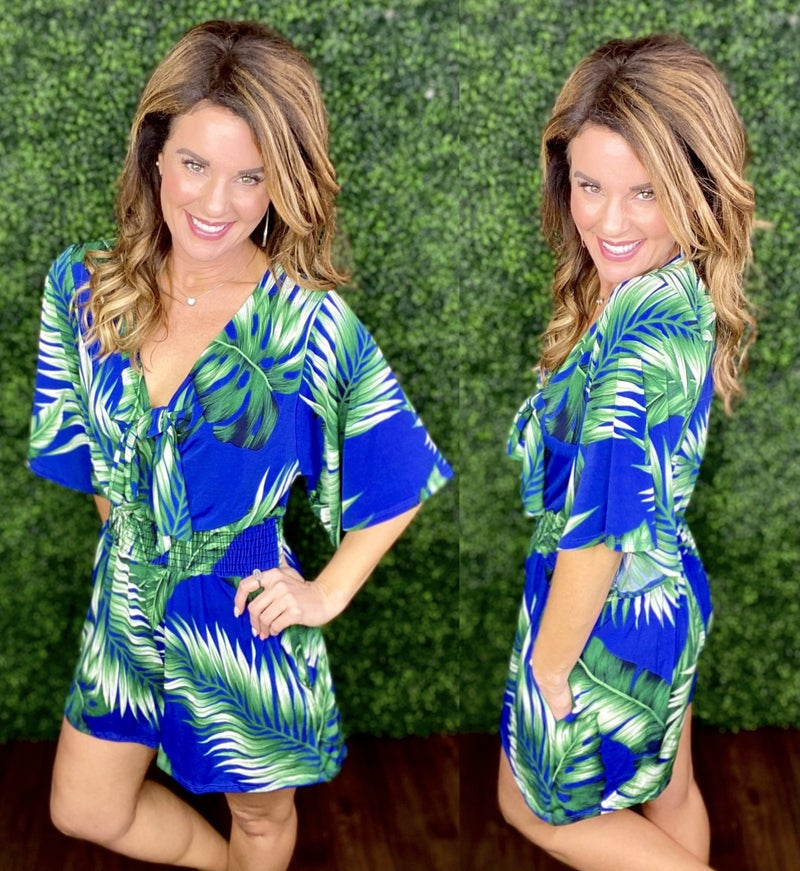 Take me on Vacay Romper - LIMITED!