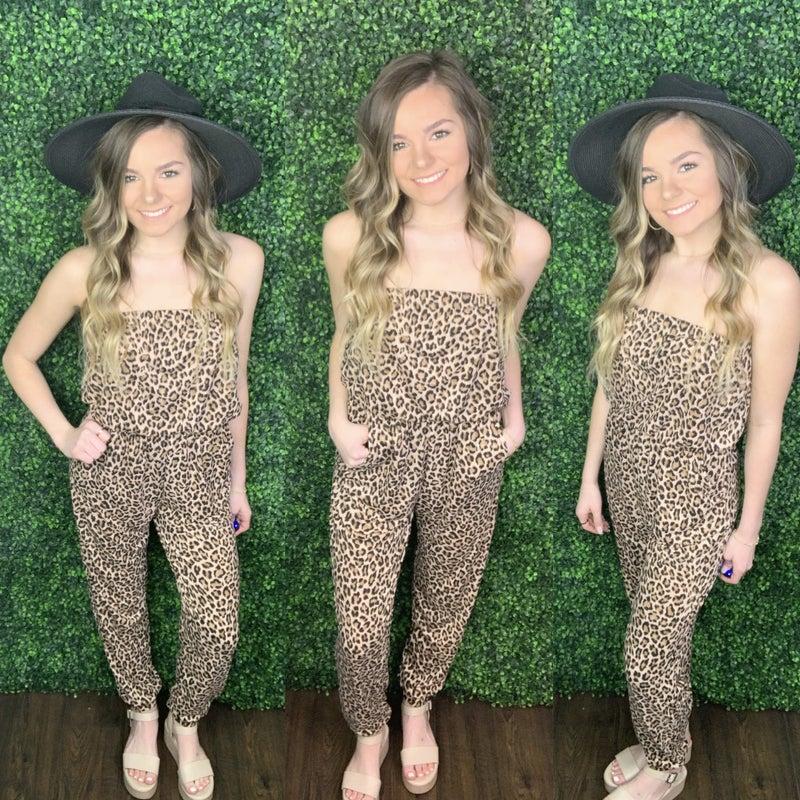 Winning Cheetah Jumpsuit