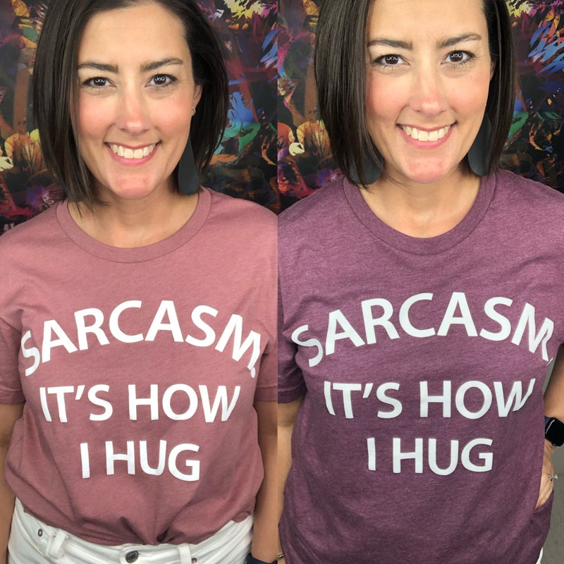 Sarcasm Graphic Tee
