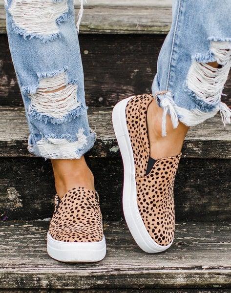 Trendy Slide On Shoes - 3 print options!