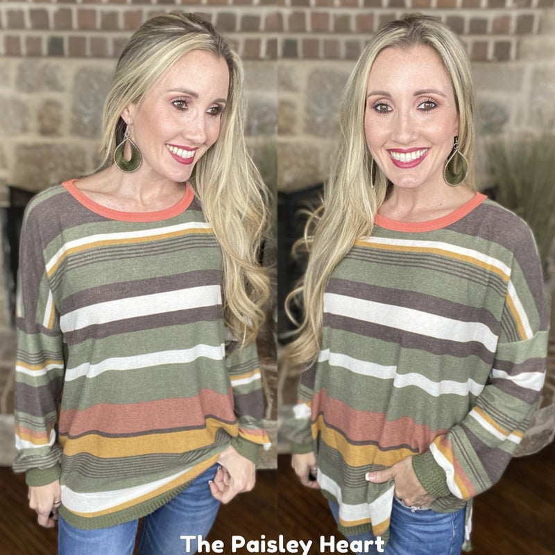 Forever in Stripes Soft Oversized Tunic