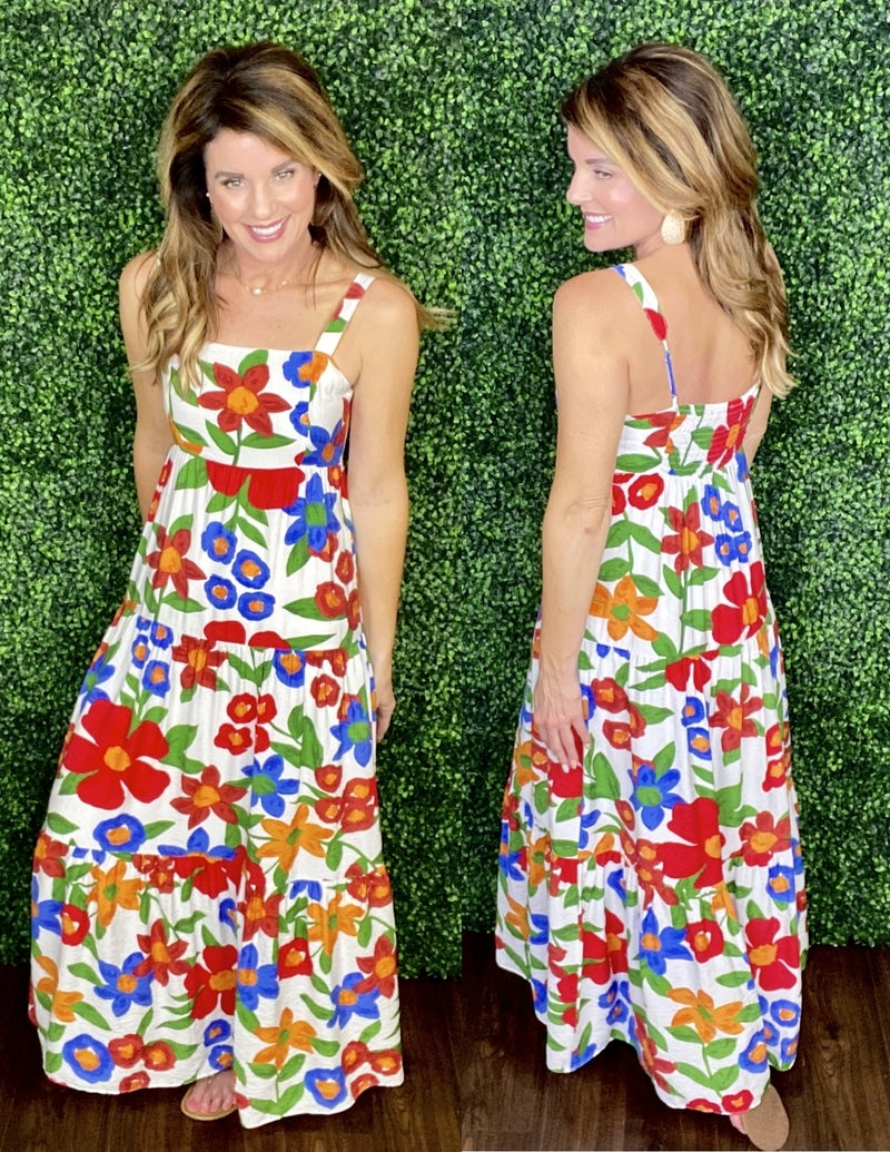 Simply Floral Dress