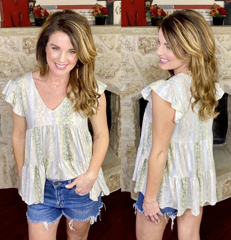 Seize the Day Soft Flirty Top