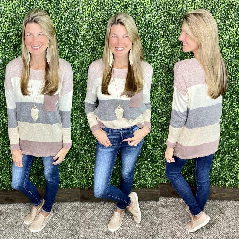 Sofie Colorblock Sweater