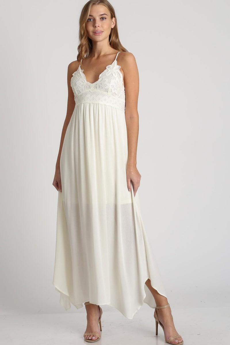 Finding Romance Strappy Maxi Dress