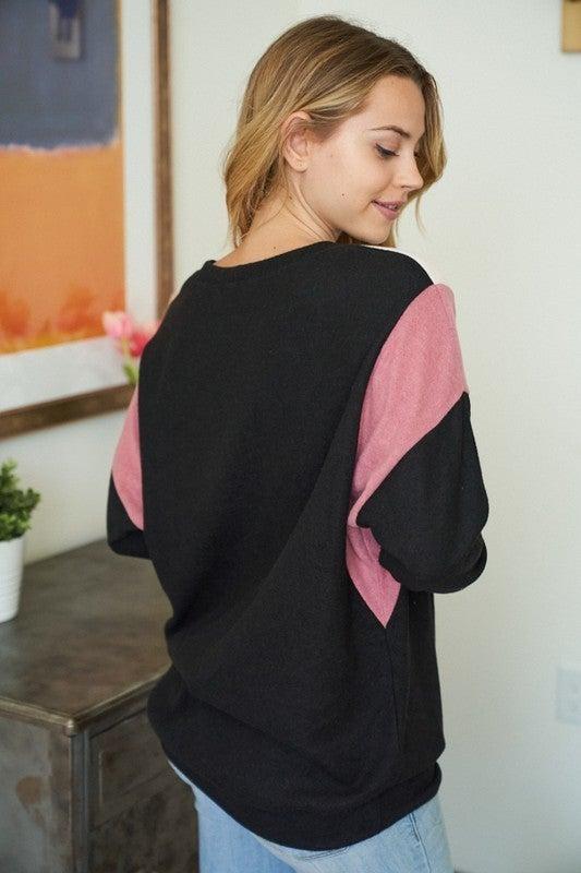 Harper Colorblock Pullover