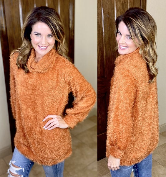 Fantastically Fuzzy Sweater