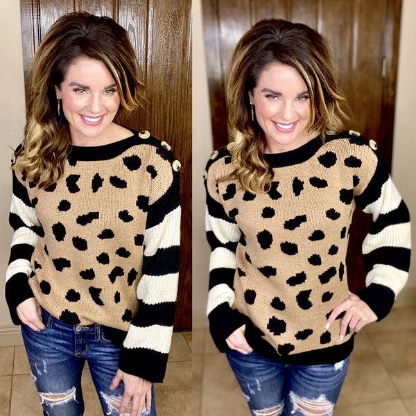 Hollyn Leopard Sweater