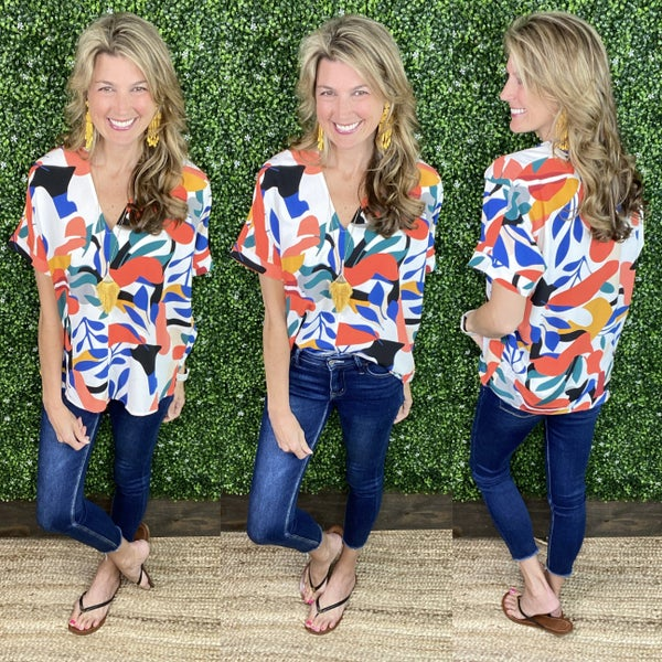 Jamie Abstract Top