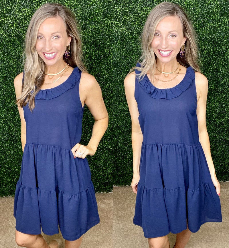 Best Day Feminine Solid Dress