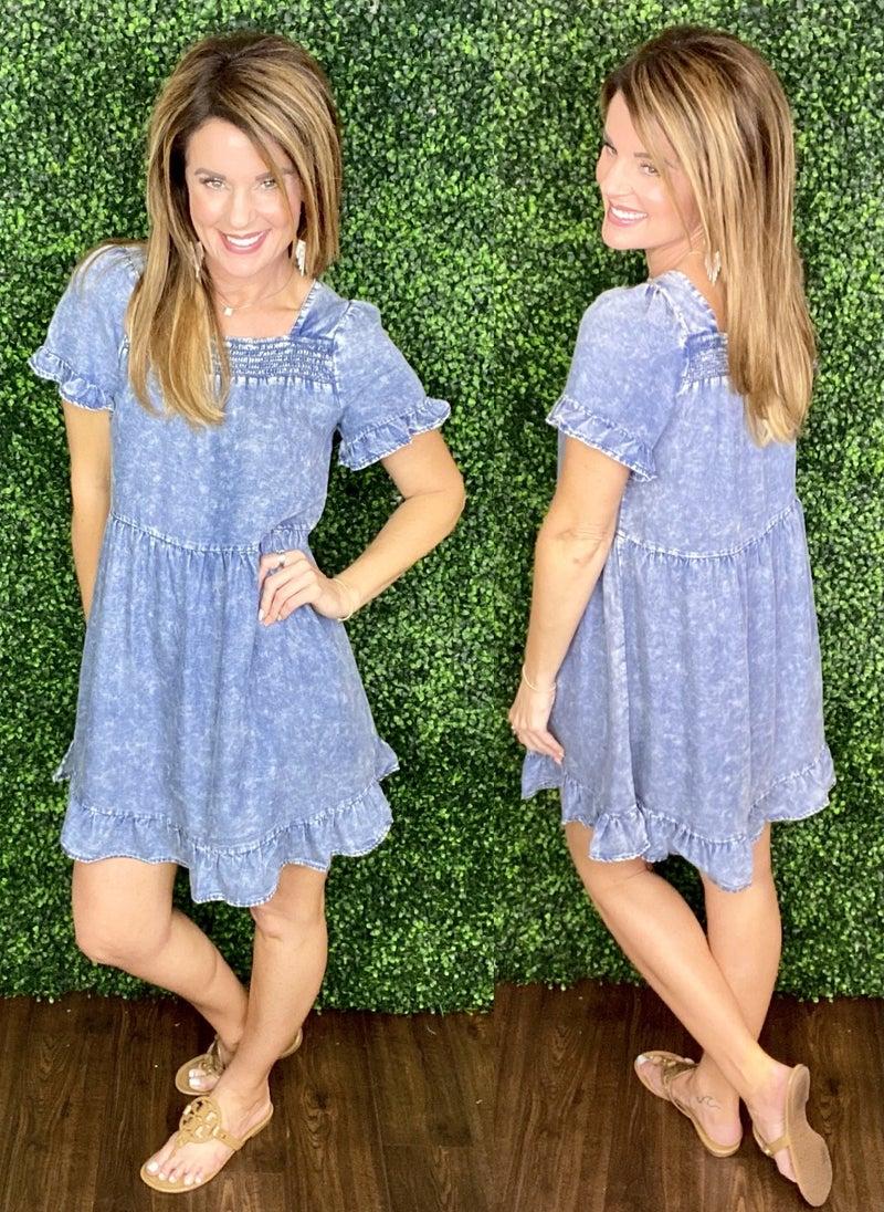 Lindsey Denim Dress