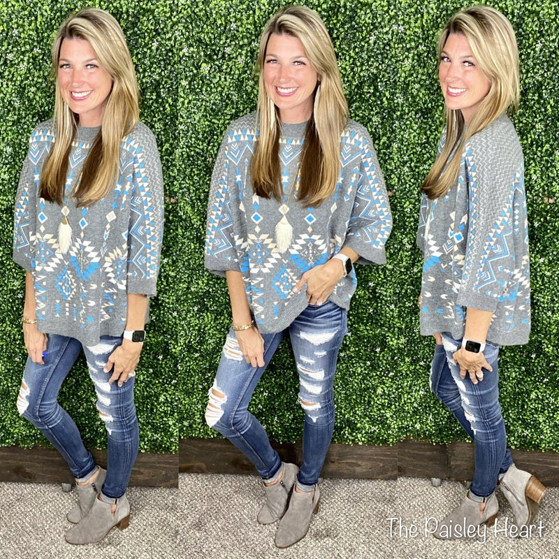 Erika Aztec Sweater