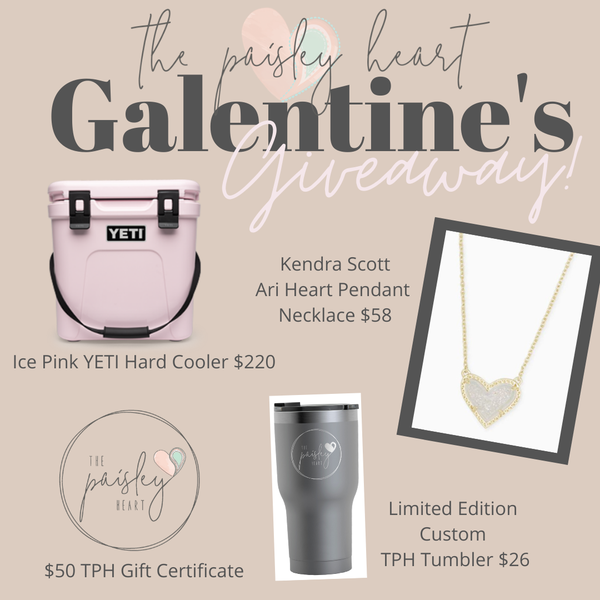 TPH GALENTINE'S GIVEAWAY!! Not for Purchase!