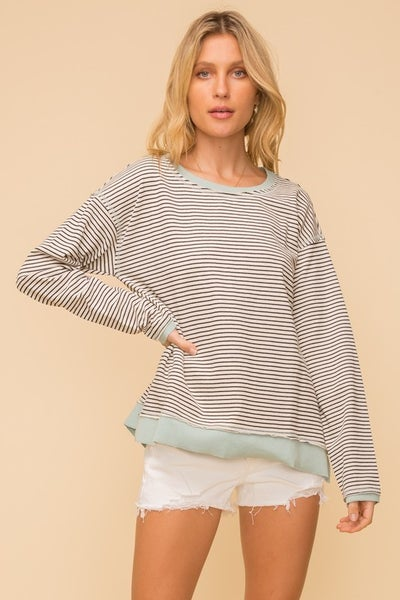 Kiara French Terry Pullover