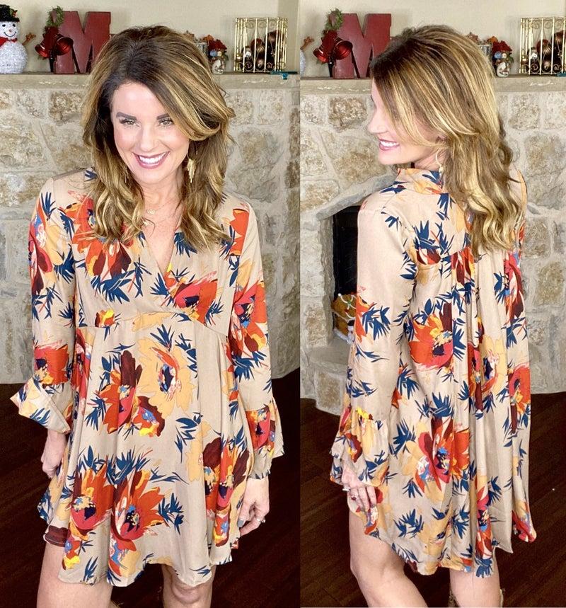 Floral Splendor Dress
