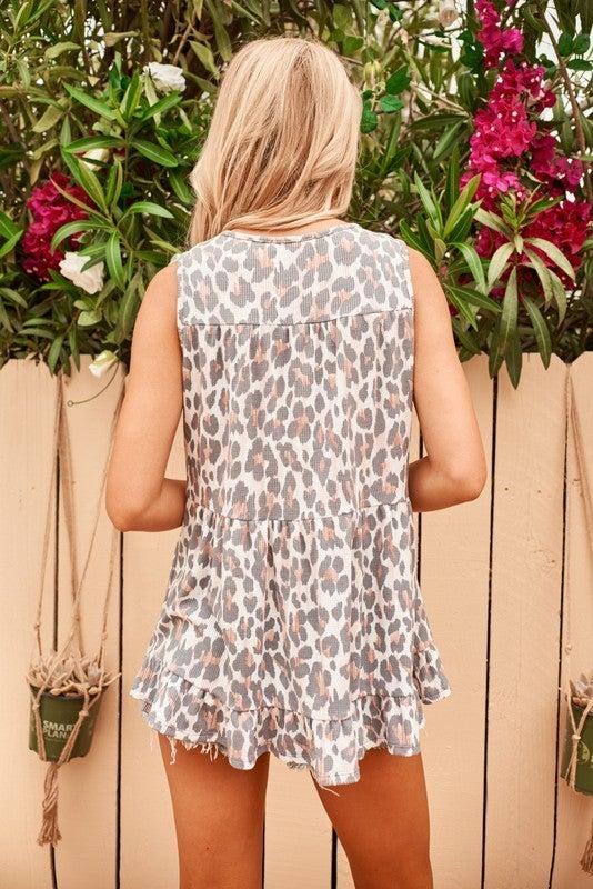 Kiley Cheetah Top