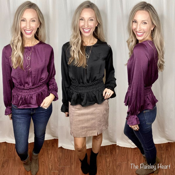 Chic Confidence Blouse
