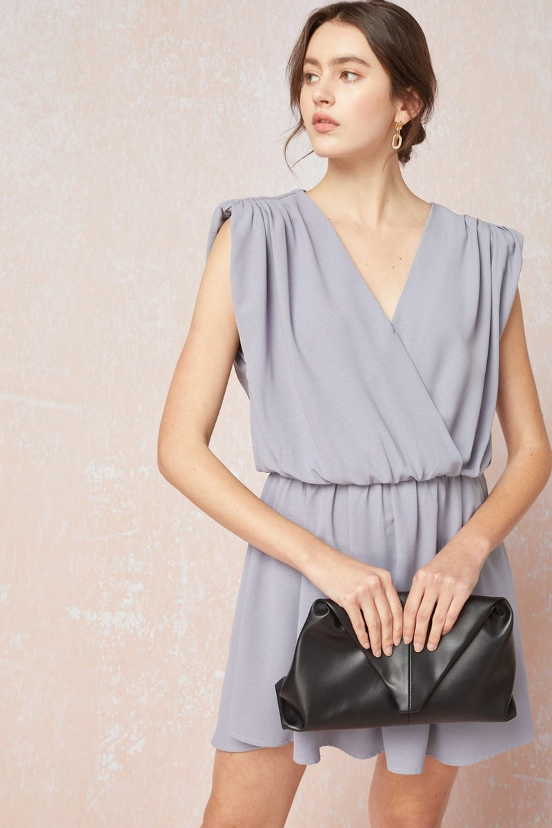 Lily Surplice Dress