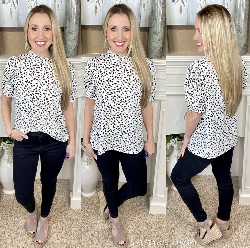Thriving Leopard Top