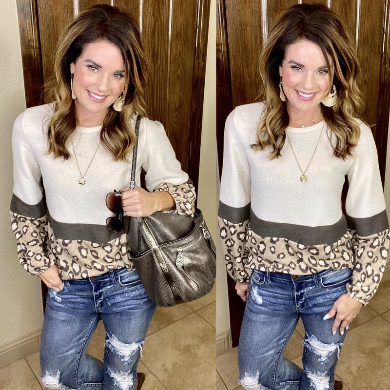 Leopard Perfection Top