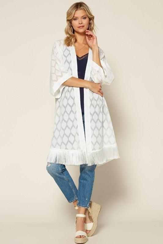 Gone On Vacay Kimono