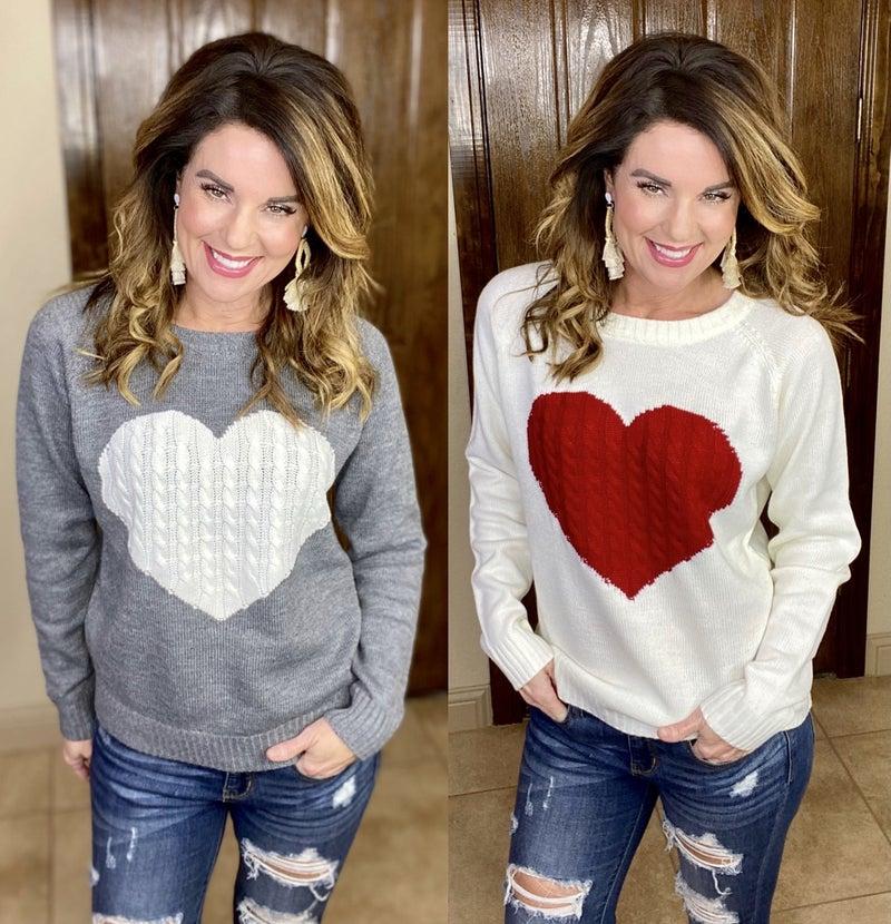 Heart & Soul Sweater