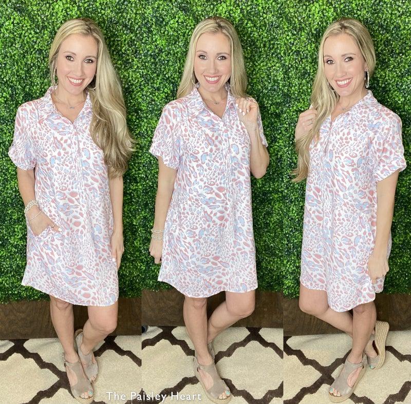 Brandy Cheetah Dress
