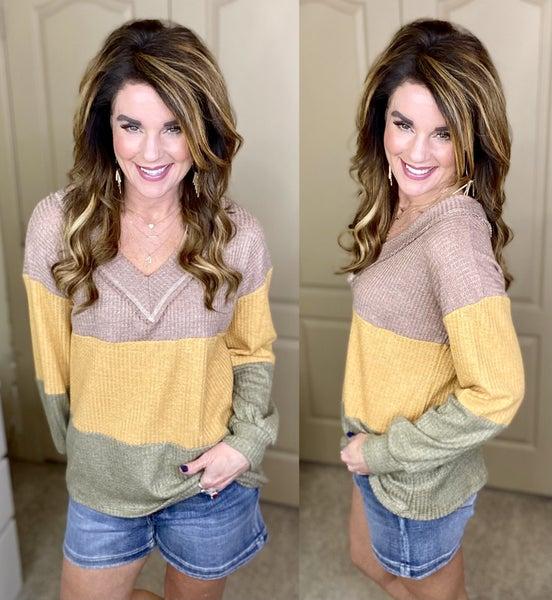 Trading Secrets Stripe Sweater