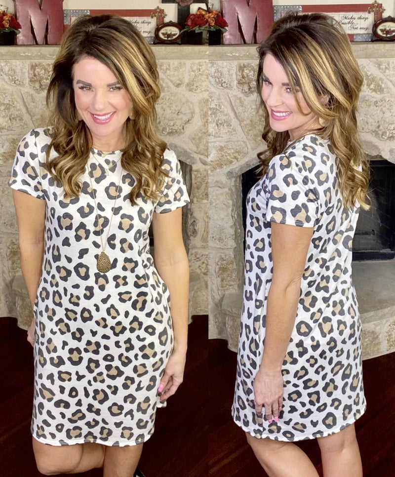 Forever After Cheetah Dress
