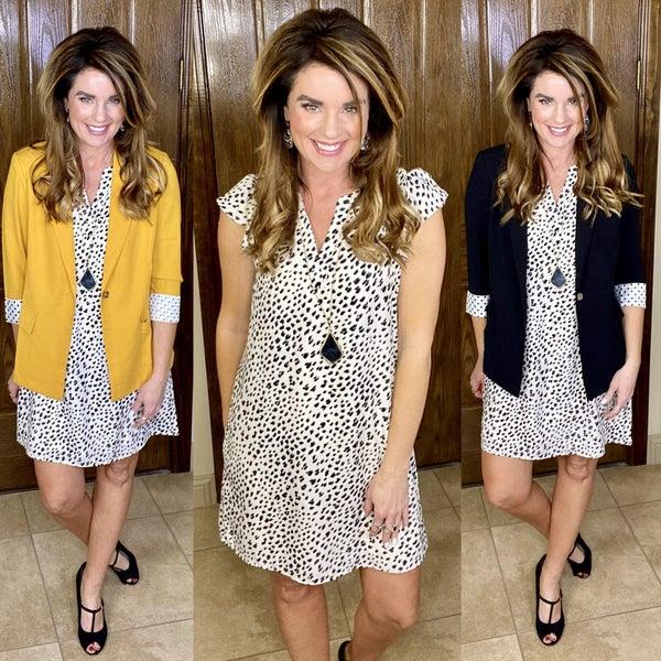 Skylar Leopard Dress