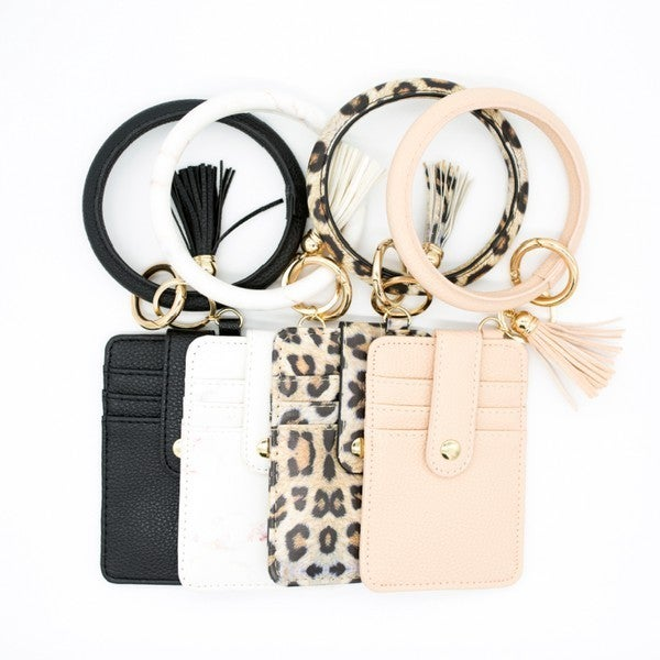 Kelsie Keychain Bangle Set