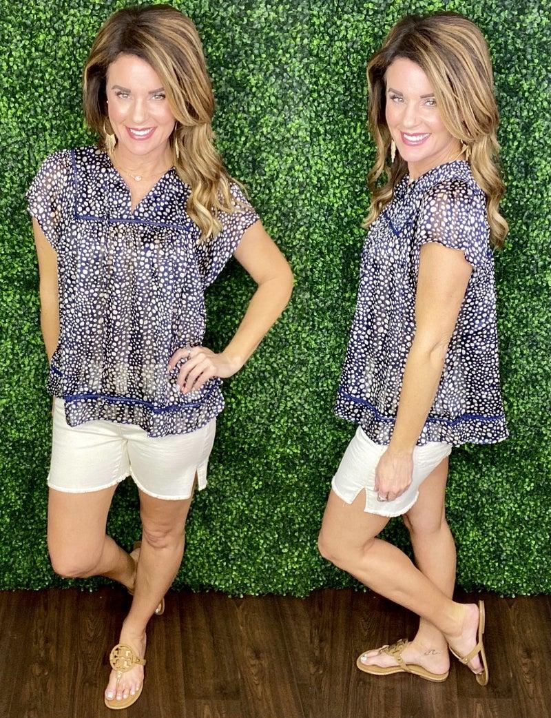 Judy Blue Side Slit Cut Off Denim Shorts