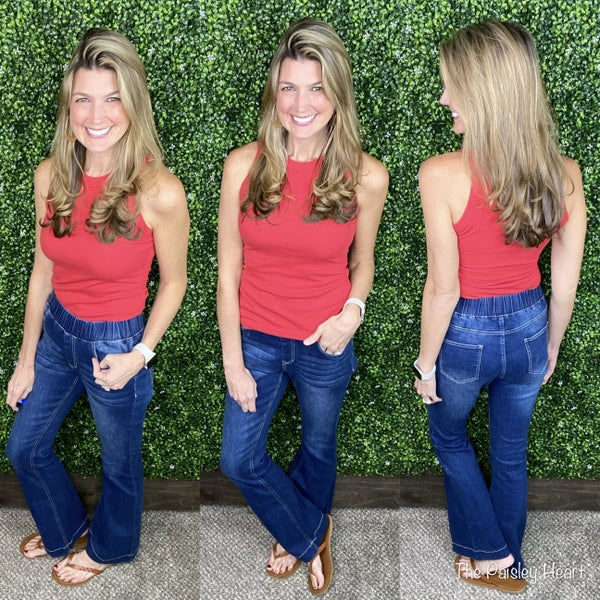 High Rise Flare Jeans