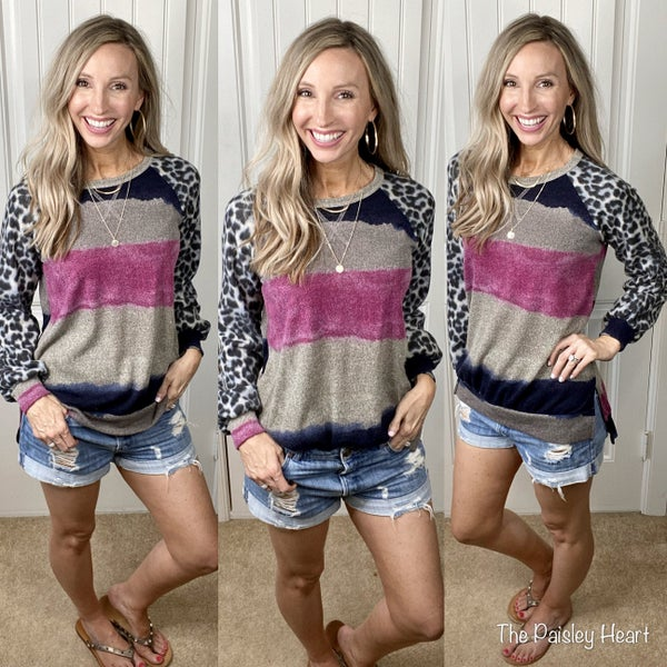 Fab Contrasts Pullover