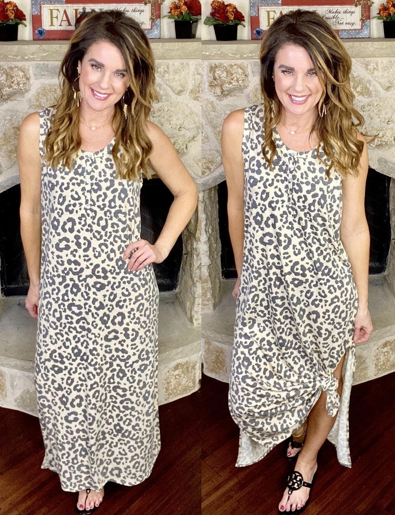 Flawless Touch Maxi Dress