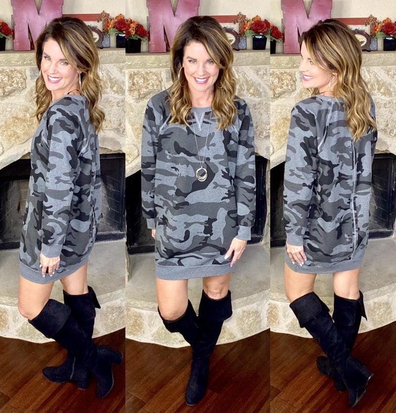 Camo Comfort Dress